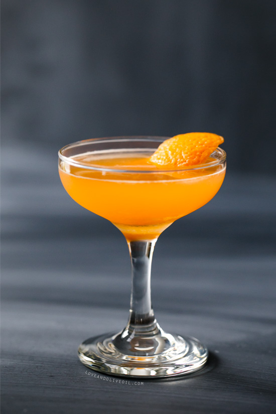 The Antioxidant (Vodka, Aperol & Tangerine Cocktail)