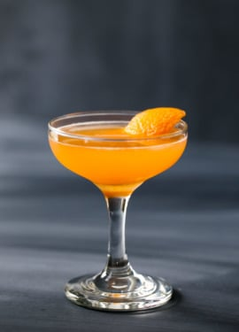 The Antioxidant cocktail recipe (Vodka, Aperol & Tangerine Cocktail) from Carnival Cruiselines