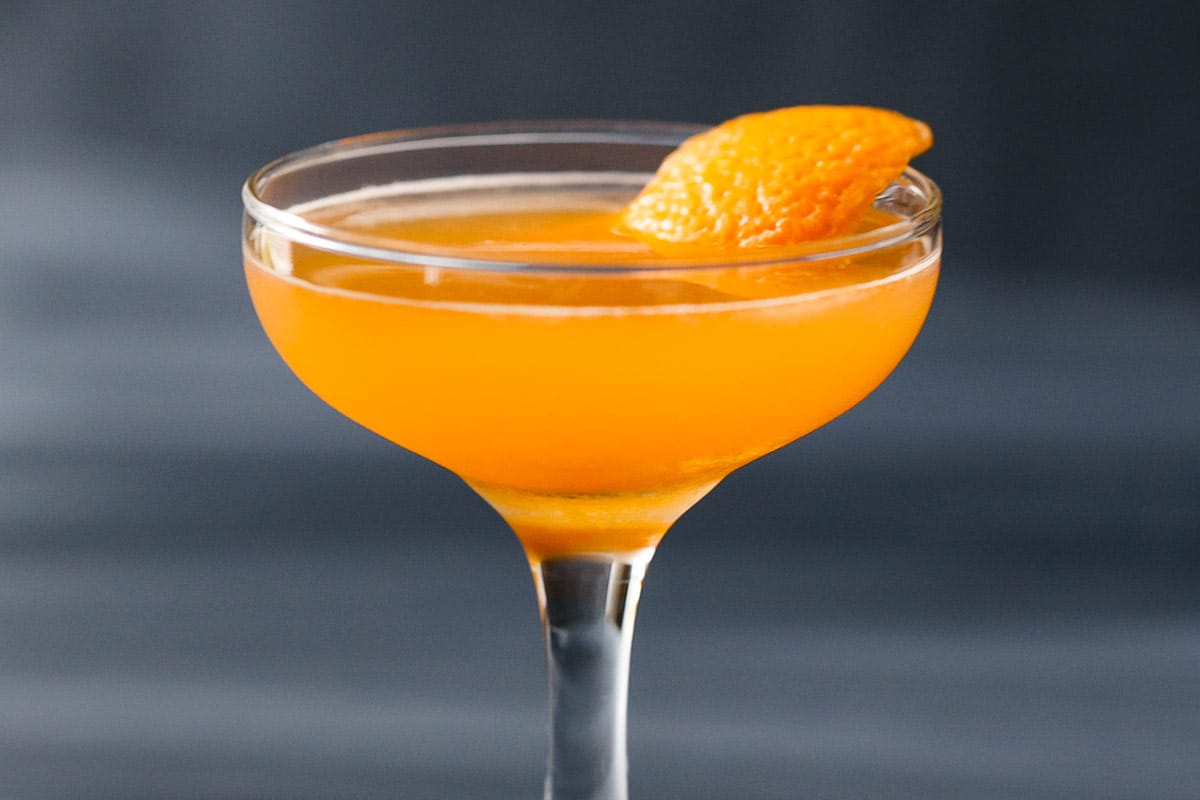 The Antioxidant (Aperol & Tangerine Cocktail)