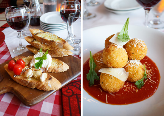 Carnival Foodie Cruise - Italian Feast at Cucina del Capitano