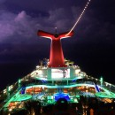 Carnival Foodie Cruise - Lightning Storm aboard the Carnival Sunshine
