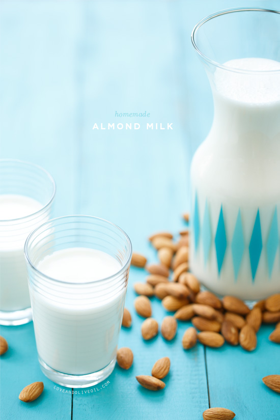 Kitchen Basics: Homemade Almond Milk | Love and Olive Oil