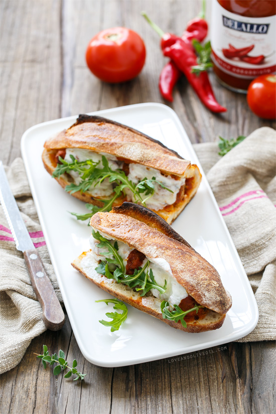 Spicy Italian Meatball Sandwiches