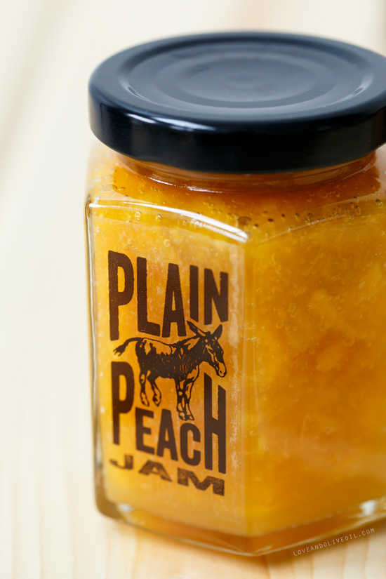 Basic Homemade Peach Jam