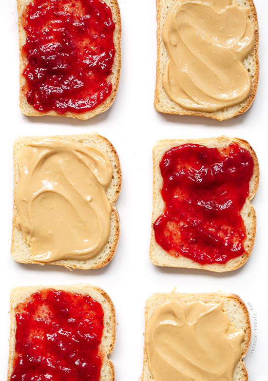 Ultimate From-Scratch Peanut Butter & Jelly Sandwiches