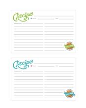 Cookie Swap Printables: Recipe Cards