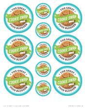 Cookie Swap Printables: Stickers