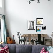 Dining Room Art Wall