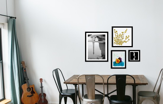 Dining Room Art Wall