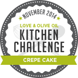 November Kitchen Challenge: Crepe Cake