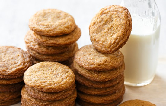 Molasses Snickerdoodles Cookies