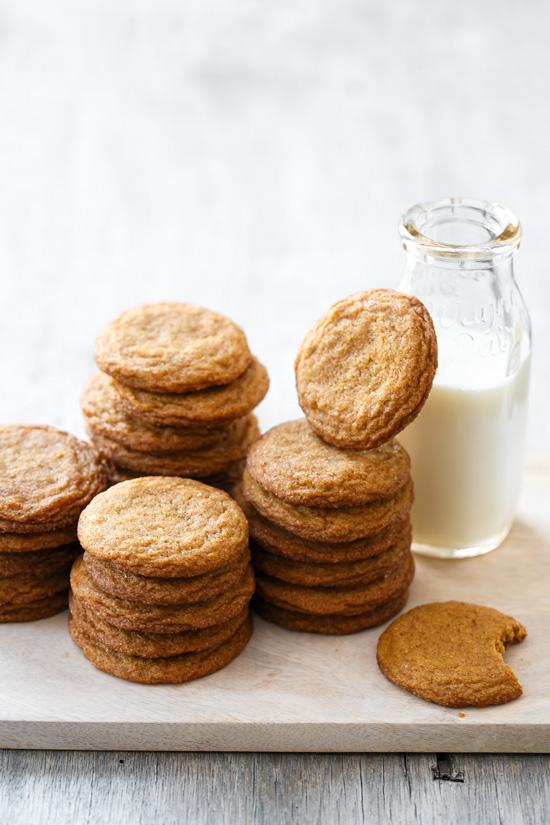 Molasses Snickerdoodles Cookies