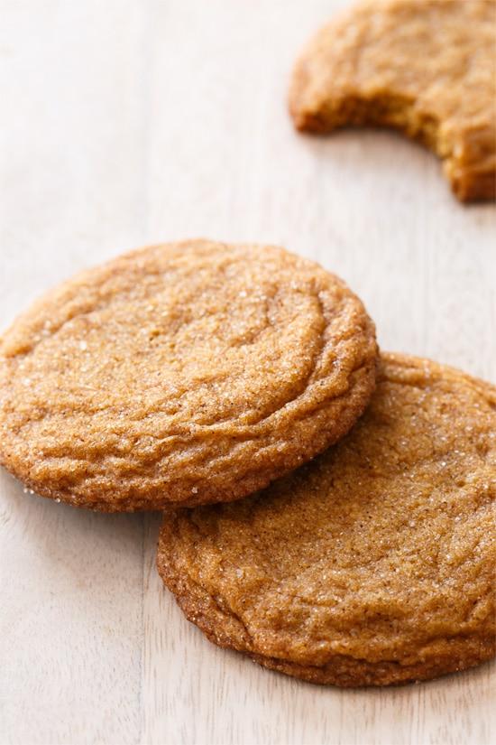 Molasses Snickerdoodle Cookies