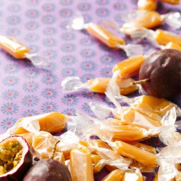 Passion Fruit Caramels