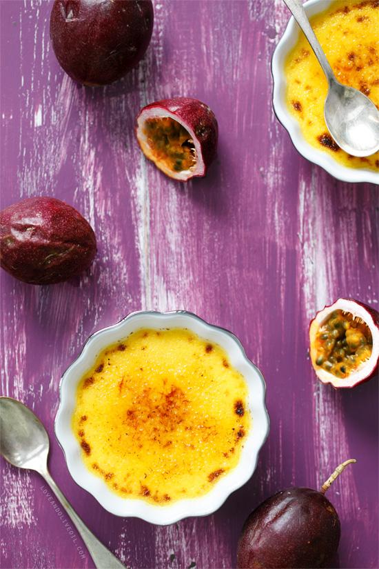 Passion Fruit Créme Brûlée