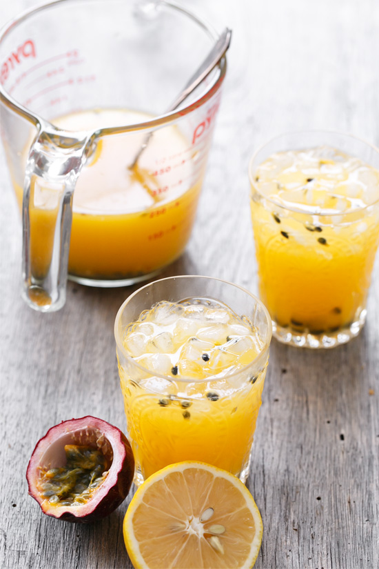 Passion Fruit Meyer Lemonade