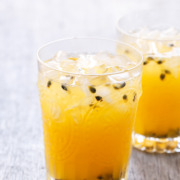 Meyer Lemon & Passionfruit Lemonade