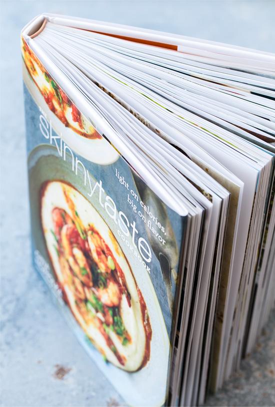 the Skinnytaste Cookbook by Gina Homolka