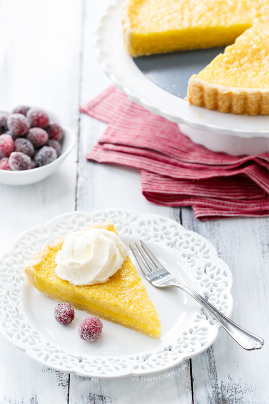 Buttermilk Chess Pie | Love and Olive Oil