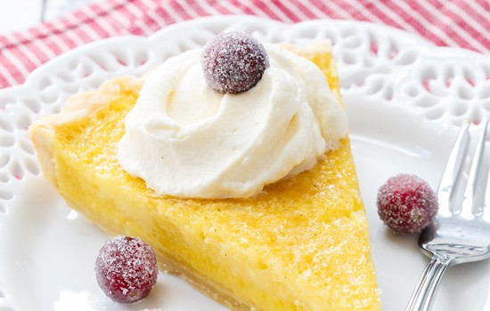 Lisa Donovan's Buttermilk Chess Pie