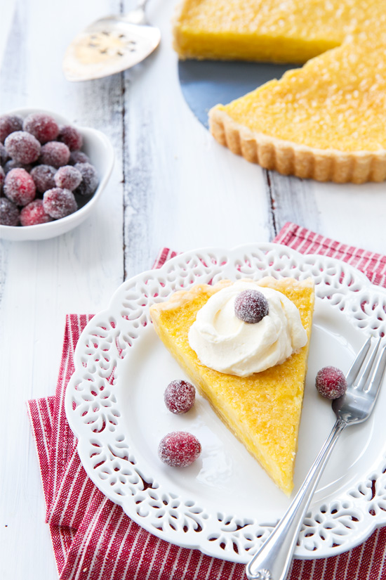 Pastry chef Lisa Donovan of Husk's Buttermilk Chess Pie