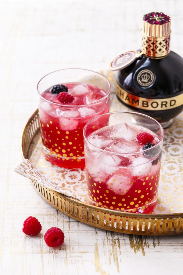 Chambord Black Raspberry Shrub Cocktail Recipe