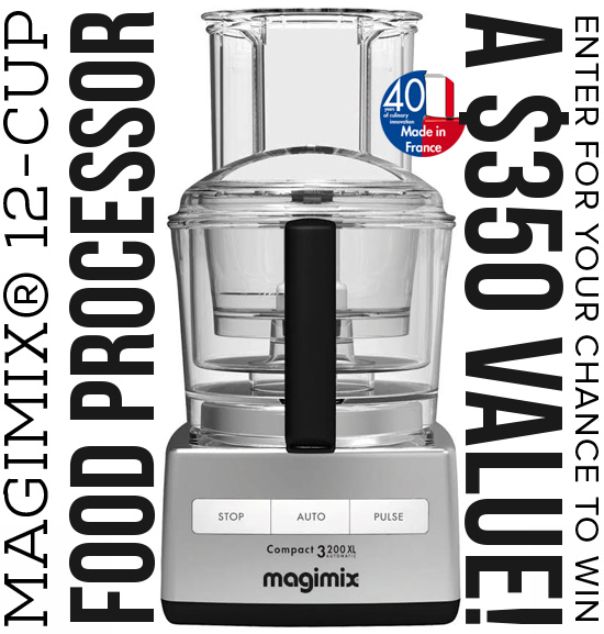 Magimix® 12-cup Food Processor Giveaway