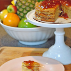 November Crepe Cake Kitchen Challenge - Chandra