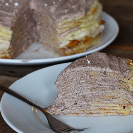 November Crepe Cake Kitchen Challenge - Sara