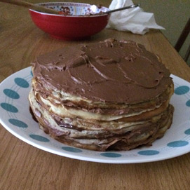 November Crepe Cake Kitchen Challenge - Kaitlyn