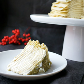 November Crepe Cake Kitchen Challenge - Mabel