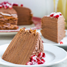 November Crepe Cake Kitchen Challenge - Shinee