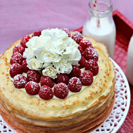 November Crepe Cake Kitchen Challenge - Wardah