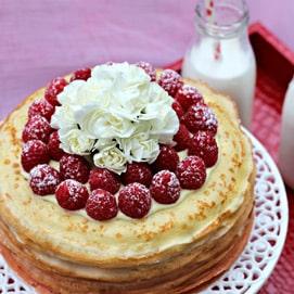 November Crepe Cake Kitchen Challenge - Wardah