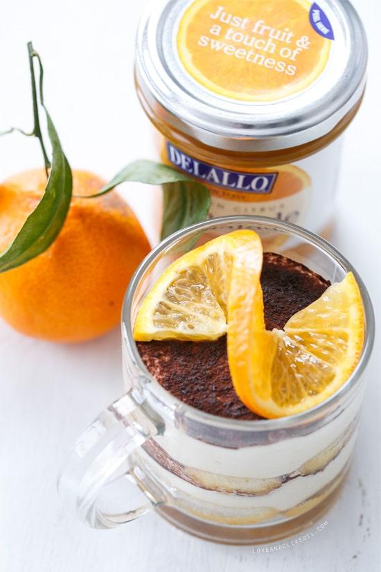 Orange Marmalade Tiramisu