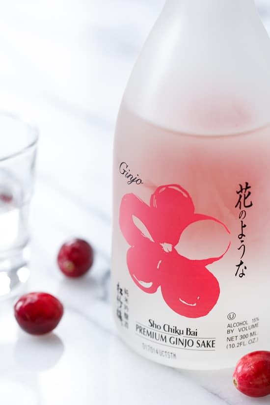 Ginger Sake Cranberry Sauce