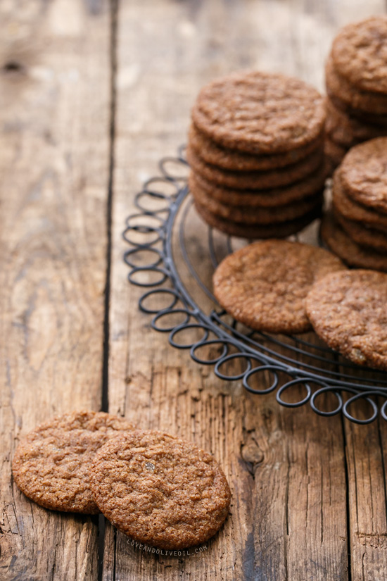 Triple Gingersnaps Cookie Recipe