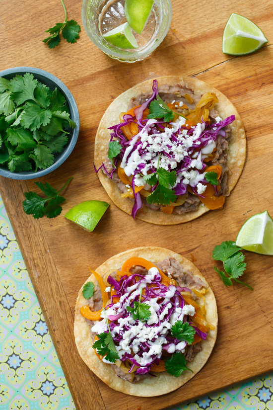 America's Test Kitchen Vegetarian Bean Tostadas