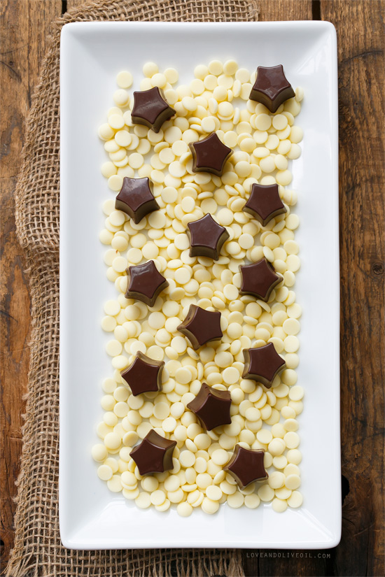 White Chocolate & Peanut Butter Avalanche Truffles