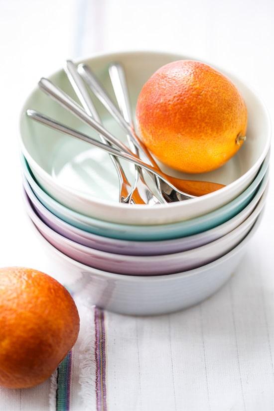 Blood Orange & Coconut Tapioca Pudding