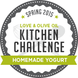 Kitchen Challenge Spring 2015: Homemade Yogurt