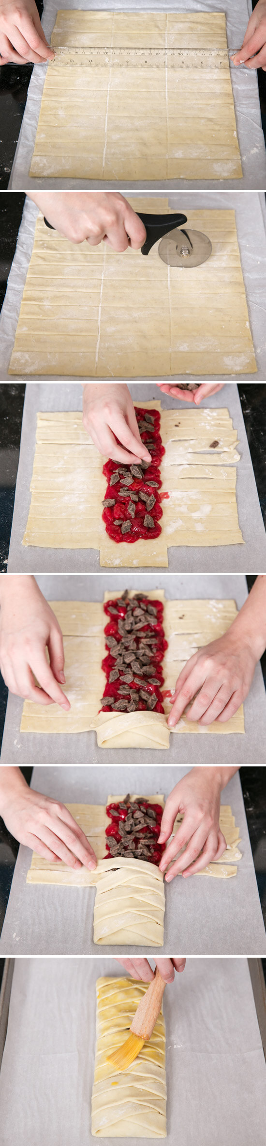 How to Make a Braided Danish Pastry