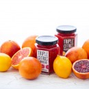 Triple Citrus Marmalade made with Meyer Lemons, Cara Cara and Blood Oranges