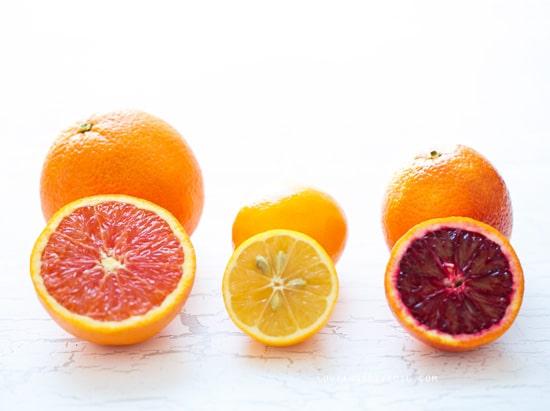 Triple Citrus Marmalade made with Meyer Lemons, Cara Cara and Blood Oranges