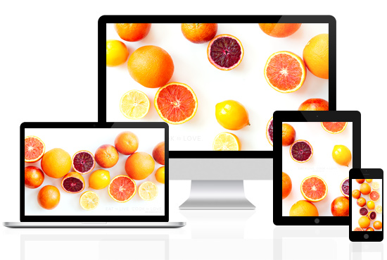 Free Download: Winter Citrus Wallpapers