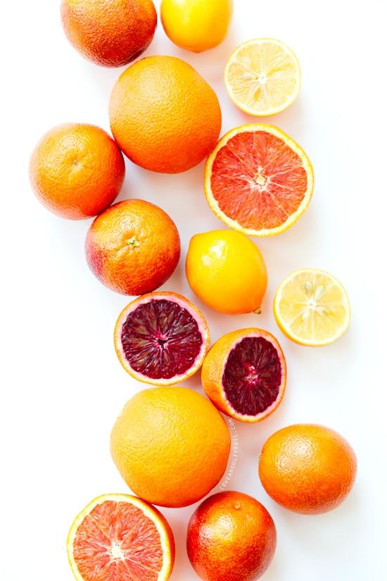 Winter Citrus Photograph