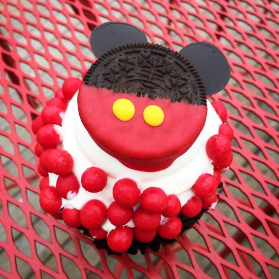 Chocolate Oreo Mickey Cupcake