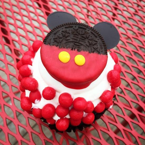 Chocolate Oreo Mickey Cupcake