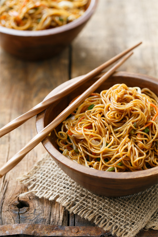 Stir Fried Soy Sauce Noodles Recipe