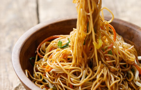 Cantonese Pan-Fried Soy Sauce Noodles